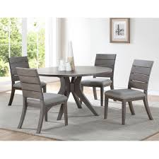 100 Living Room Table Modern Shop The Gray Barn Abernathy Grey And Oak Wood 54inch Round