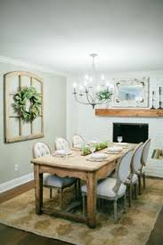 Signature Magnolia Wreath Dining Rooms With FireplacesDining Room FireplaceDinning Wall DecorNeutral