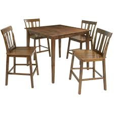 Mainstays 5-Piece Mission Style Dining Set, Cherry | LAVORIST John Thomas Select Ding Mission Side Chair Fniture Barn Almanzo Barnwood Table Tapered Leg Black Base Amish Crafted Oak Room Set 1stopbedrooms Updating Style Chairs The Curators Collection Stickley Six Ellis A Original Sold Of 8 Arts Crafts 1905 Antique Craftsman Plans And With Urban Upholstered Rotmans Marbrisa Available At Jaxco