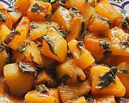 cuisine maghrebine recette batata mchermla