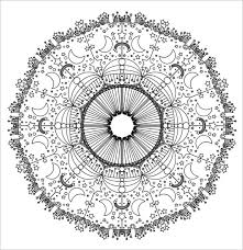 Beautiful Mandala Coloring Page