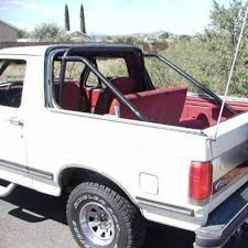 6 Point Soft Top Support Kit 80 96 Bronco Welded WILD HORSES f
