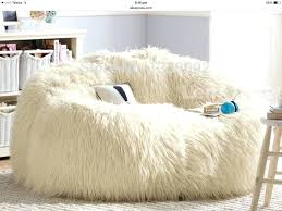 Fur Bean Bag Chairs Pink Fluffy