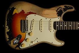 Fender 1962 1999 John Mayer Black One 3TS Concept Relic Refinish