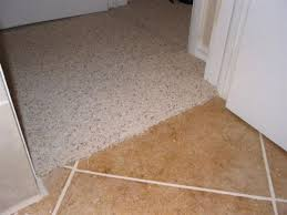 carpet to tile transition how to info ceramic tile advice forums