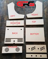 Diy Arcade Cabinet Flat Pack by Bartop Arcade Kit Game Room Solutions