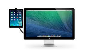 Dual Monitor Stand Up Desk by Hoverbar 3 For Ipad Twelve South