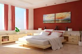 Bedroom Warm Paint Color Ideas For Decor And Design Home Modern Red White Theme Japanese Architectural Homes Luxury Interior