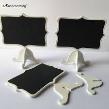 20 Pieces Lot Rustic Wedding Decor Table Numbers Vintage Mini Chalkboard Signs In Party DIY Decorations From Home Garden On Aliexpress