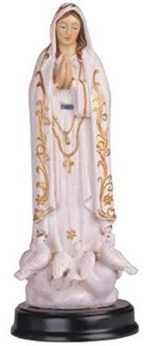 Stealstreet Our Lady of Fatima Holy Figurine Religious Decoration Decor, 5""