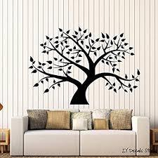 bailongxiao baum vinyl wandtattoo stammbaum wald natur blatt
