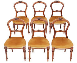 Antique Set Of 6 Victorian 19C Carved Walnut Balloon Back ... Antique Victorian Ref No 03505 Regent Antiques Set Of Ten Mahogany Balloon Back Ding Chairs 6 Walnut Eight 62 Style Ebay Finely Carved Quality Four C1845 Reproduction Balloon Back Ding Chairs Fiddleback Style Table And In Traditional Living Living Room Upholstery 8 Upholstered Lloonback Antique French
