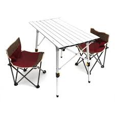 Portable Folding Camping Table Aluminum Alloy Height ... Fold Up Camping Table And Seats Lennov 4ft 12m Folding Rectangular Outdoor Pnic Super Tough With 4 Chairs 120 X 60 70 Cm Blue Metal Stock Photo Edit Camping Table Light Togotbietthuhiduongco Great Camp Chair Foldable Kitchen Portable Grilling Stand Bbq Fniture Op3688 Livzing Multipurpose Adjustable Height High Booster Hot Item Alinum Collapsible Roll Up For Beach Hiking Travel And Fishing Amazoncom Portable Folding Camping Pnic Table Party Outdoor Garden