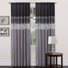 lush decor curtains drapes and valances ebay