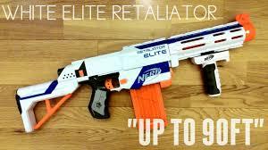 nerf white retaliator 90 ranges really