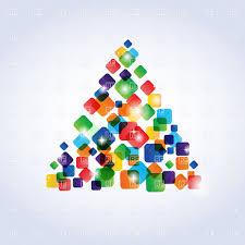 20 Drawn Christmas Tree Triangle Tree Free Clip Art Stock
