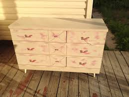 Black Dresser Pink Drawers by Black Sheep Boutique