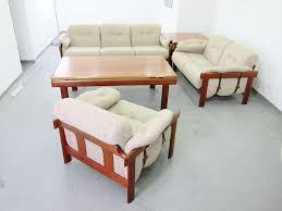 lounge suite in teak design h w klein for bramin plutoraker