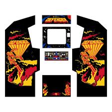 Mortal Kombat Arcade Cabinet Restoration by Defender Complete Graphics Restoration Kit Mame Cabinets Pinterest