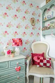 A Cottage Chic Cath Kidston Home Patchwork Lamp Shade