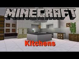 Minecraft Kitchen Ideas Keralis by Minecraft Interior Design Kitchen Edition Youtube Minecraft