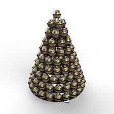 Ferrero Rocher Christmas Tree Box by 10 Tier Professional Black Acrylic Ferrero Rocher Marshmallow