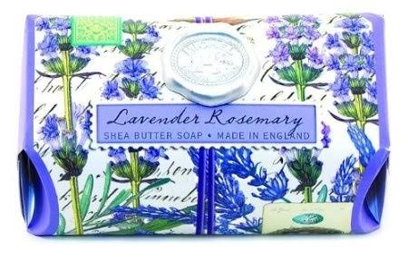 Michel Design Works Over-size Scented Triple-milled Bath Soap Bar - Lavender Rosemary, 270ml