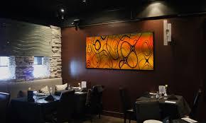 Aliexpress Three Restaurant Wall Art Pieces Panel Bright Lotus Flower Decor Classic Elegant Design Belgian Dining