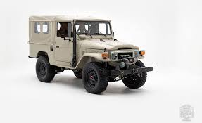How The FJ Company Turns A Vintage Toyota Land Cruiser Into A $200K ...