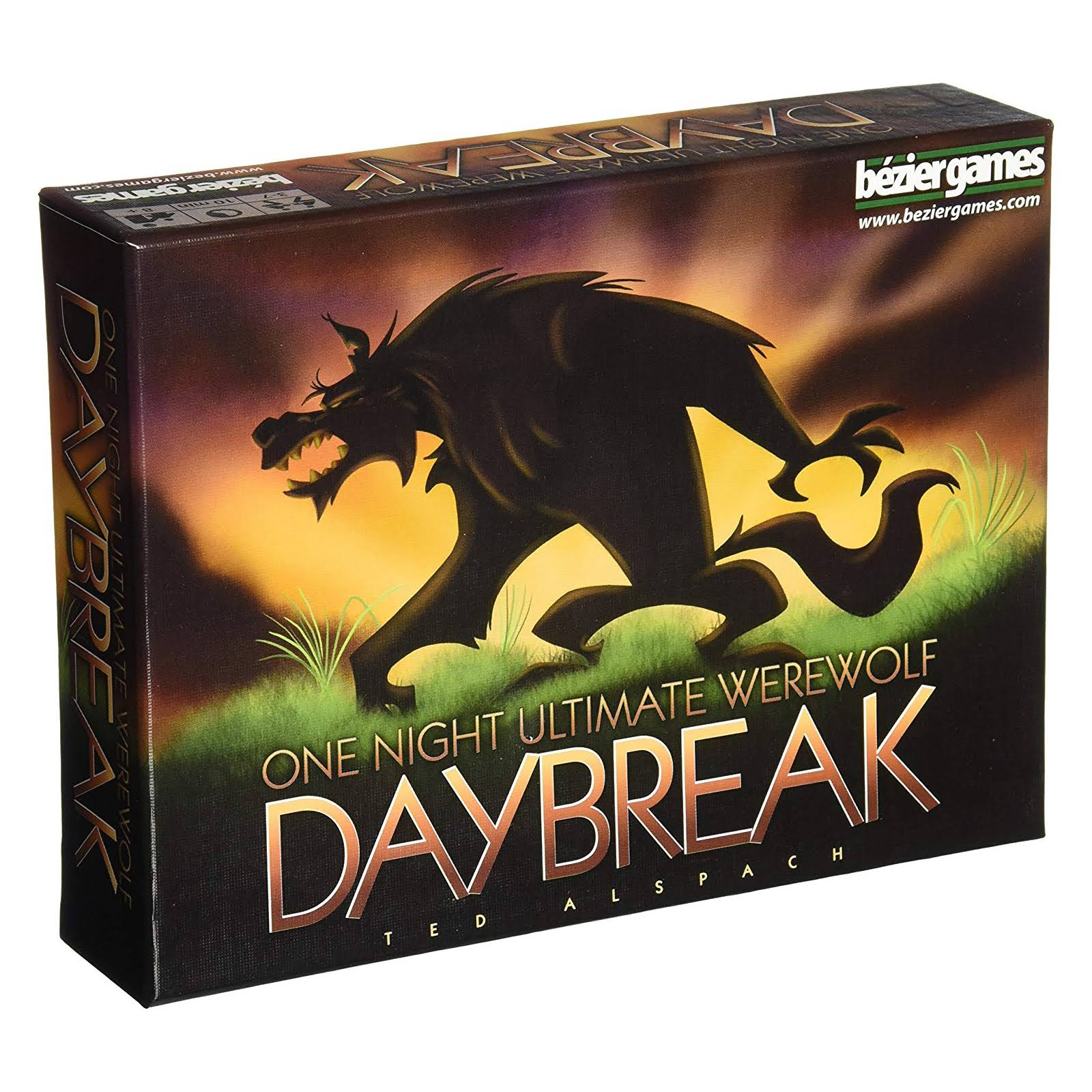 Bezier Games One Night Ultimate Werewolf Daybreak Game