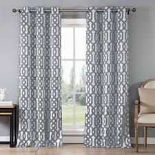 Geometric Pattern Grommet Curtains by Geometric Grommet Curtains U0026 Drapes For Window Jcpenney