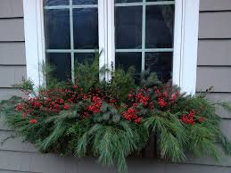 Outdoor Christmas Decorations Ideas Pinterest by Best 25 Winter Window Boxes Ideas On Pinterest Christmas Window