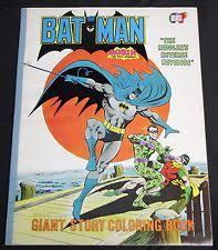 1979 Batman Riddlers Reverse Revenge Giant Coloring Book FN VF Parkes Run Robin