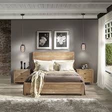 Grain Wood Furniture Montauk Full Size Solid Panel Bed