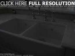 porcelain double kitchen sink chrison bellina