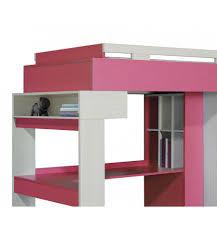 lit et bureau enfant lit combiné bureau enfant libellule lilas mobiler d enfant