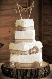 Smart Idea Lace And Burlap Wedding Cake Impressive Ideas Autumn Georgia Mill White Frosting Rustic Cakes