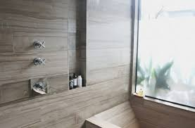 faux wood tile bathroom eatsouthward in 24 quantiply co