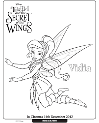 Free Tinkerbell Printables Coloring Home