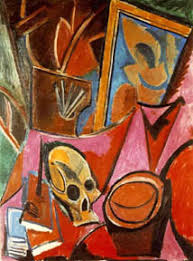 Picasso Still Life With Chair Caning Analysis by Amudu Cubism Pablo Picasso Spanish 1881 1973