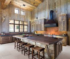 Image Of DIY Rustic Kitchen Island Design Ideas