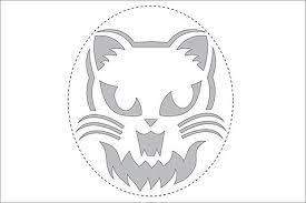 Scariest Pumpkin Carving Patterns by 28 Halloween Cat Pumpkin Stencils For A Spooky Halloween Band Of