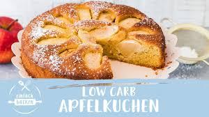 low carb apfelkuchen schnell so lecker