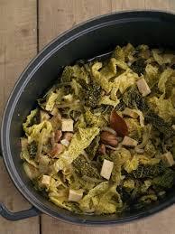 potée de chou vert à la châtaigne et au tofu végémiam la