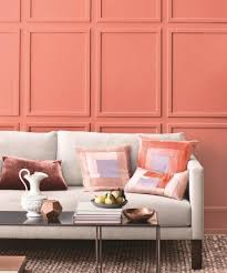 Coral Color Interior Design by Best 25 Coral Walls Ideas On Pinterest Coral Walls Bedroom