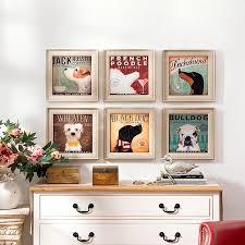 großhandel markengruppe europäischen und amerikanischen stil wohnzimmer schlafzimmer esszimmer dekorative malerei wandmalereien wandmalerei hund