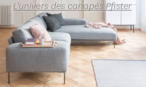 l univers du canapé acheter des canapés en ligne pfister