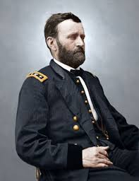 General Grant Color Tinted Photo Civil War 06946