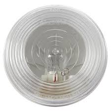 100 Truck Lite Cross Reference 40 Series Incandescent Clear Round 1 Bulb BackUp Light PL2