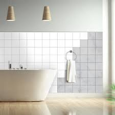 fliesenaufkleber 15 x 15 cm weiß matt glänzend küche